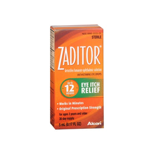 Zaditor Antihistamine Eye Drops 0.17 oz