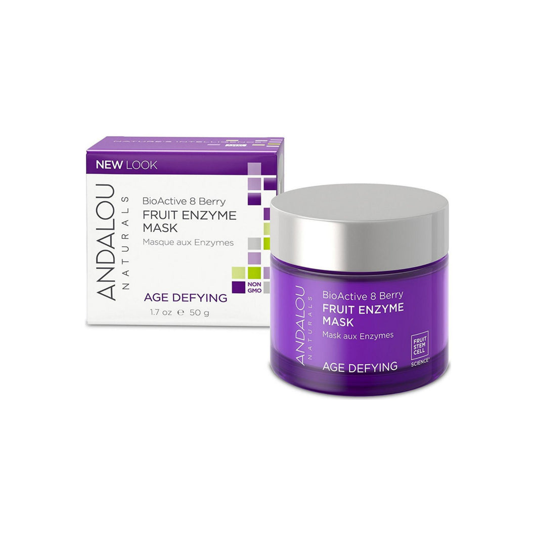 Andalou Naturals BioActive 8 Enzyme Mask, Berries 1.7 oz