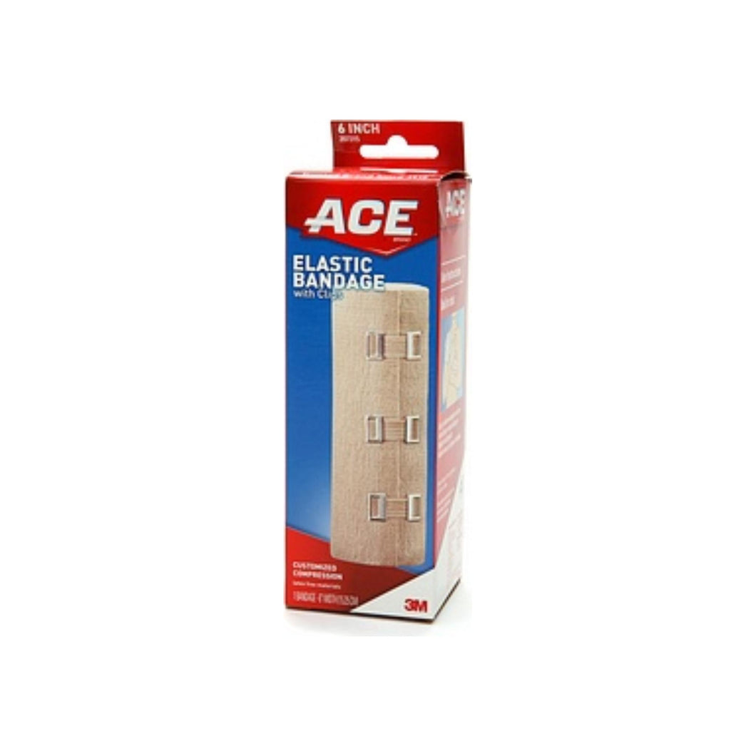 ACE Elastic Bandage 6 Inches 1 Each