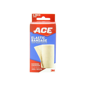 ACE Elastic Bandage with Hook Closure, 4 Inches 1 ea