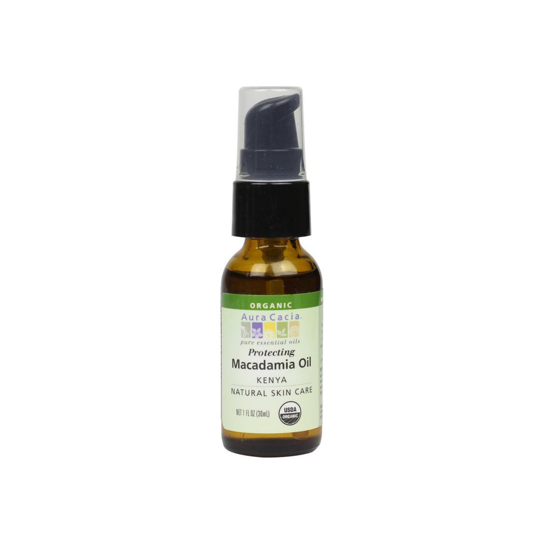 Aura Cacia Natural Skin Care, Protecting Macadamia Oil 1 oz
