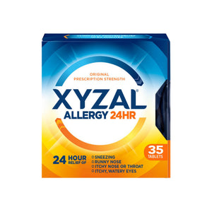 Xyzal 24 Hour Allergy Relief Tablets 35 ea