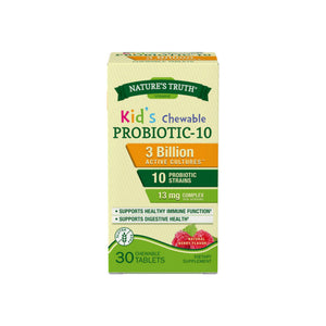 Nature's Truth Probiotic Kids Chewable Tablets, Natural Berry 30 ea