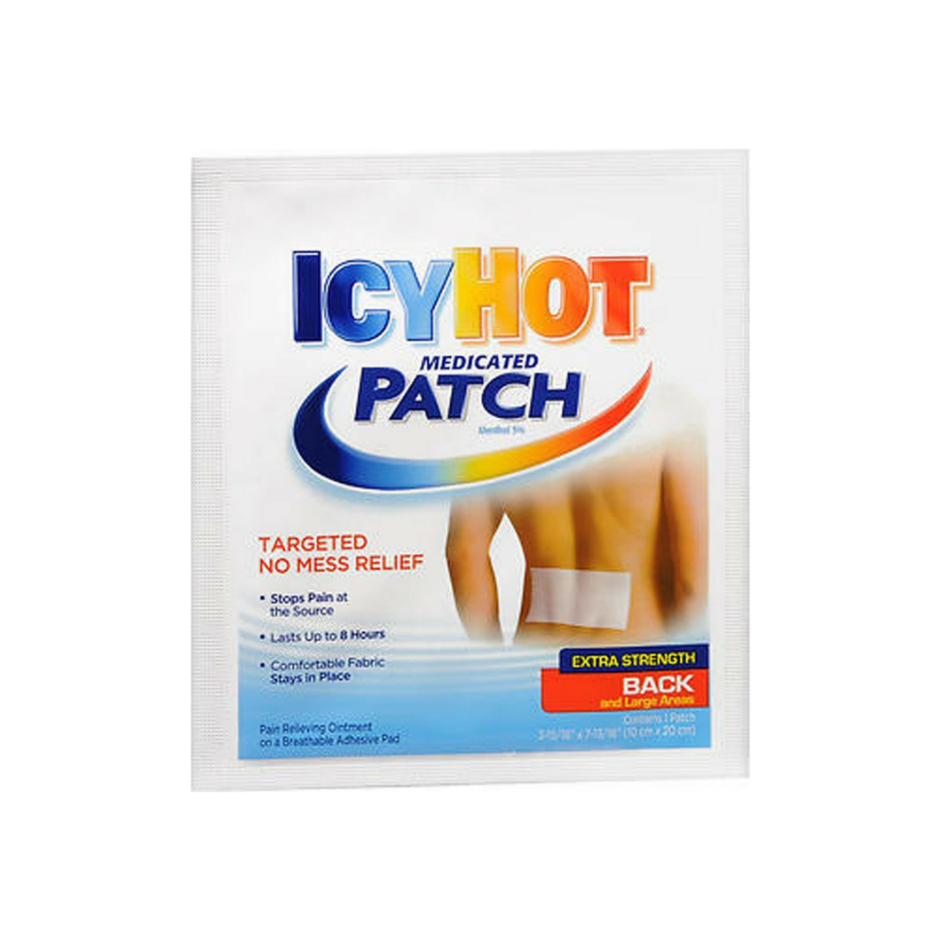 ICY HOT Extra Strength Medicated Patch, Large 1 ea