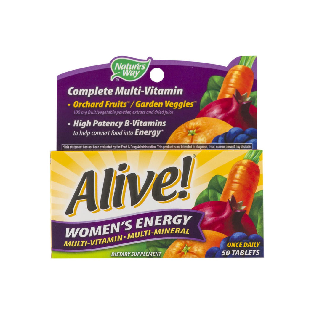 Alive! Tablets Women's Energy 50 Tablets