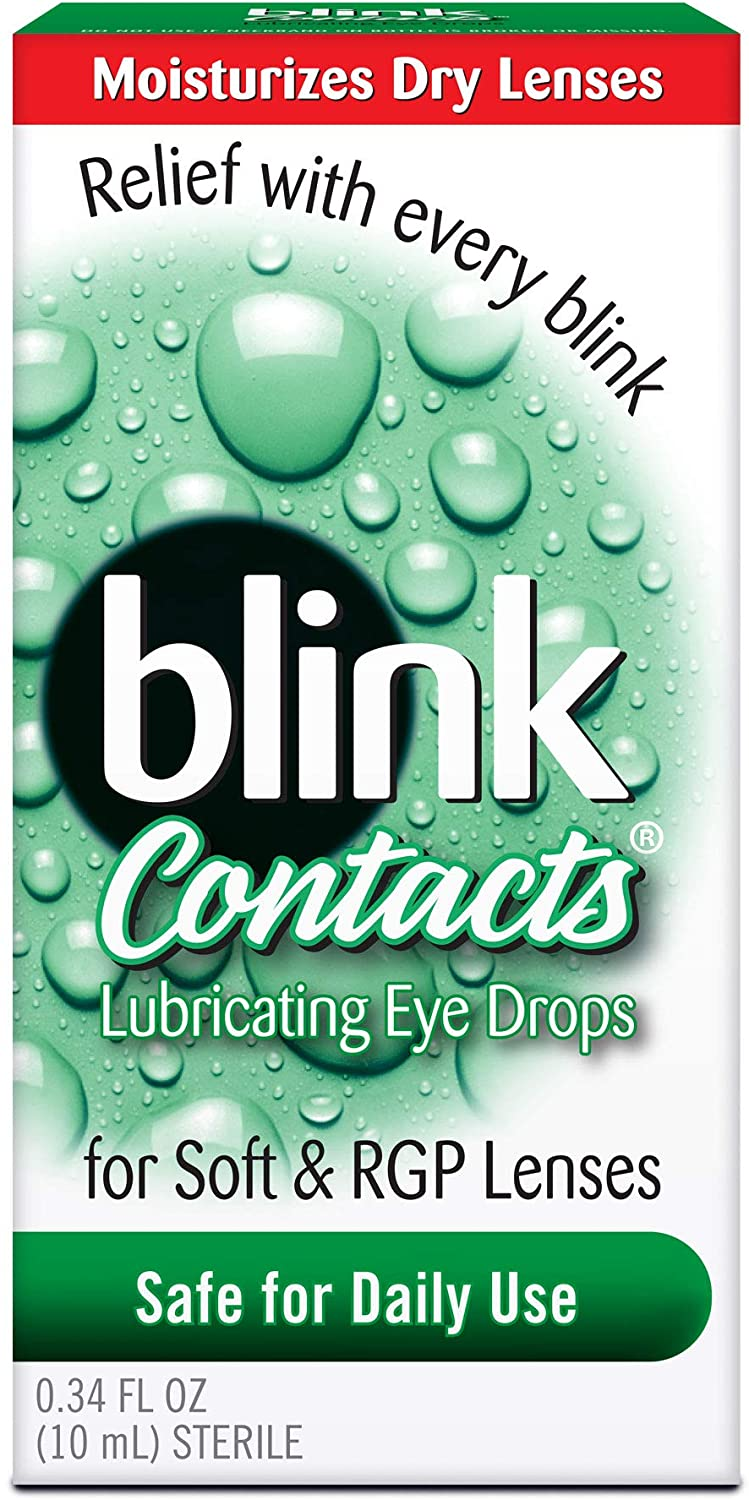 blink Contacts Lubricating Eye Drops 10 mL