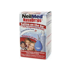 NeilMed NasaDrops Single-Use Ampoules 15 Each [705928110014]