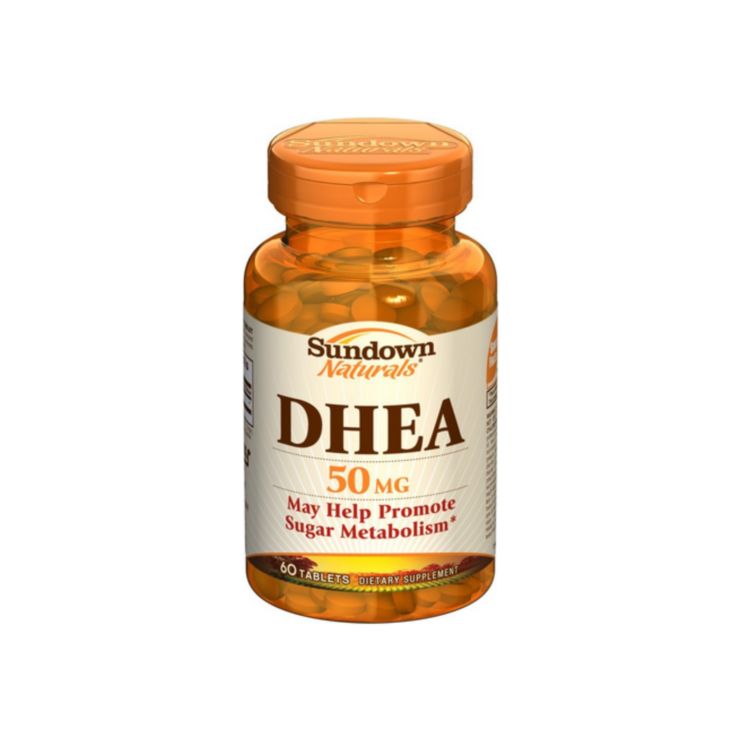 Sundown Naturals DHEA 50 mg Tablets 60 Tablets