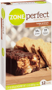 ZonePerfect Nutrition Bars, Fudge Graham 12 ea