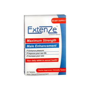 ExtenZe Nutritional Supplement For Men 30 Tablets