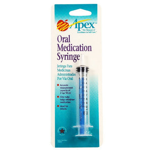 Apex Oral Medication Syringe 1 ea