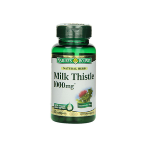 Nature's Bounty Milk Thistle 1000mg Softgels 50 ea