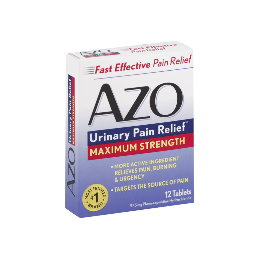 AZO Standard Tablets, Maximum Strength 12 ea