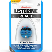 Load image into Gallery viewer, Listerine Ultraclean Mint Floss 30 Yards