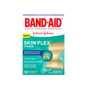 Band-Aid Skin-Flex Adhesive Bandages, Finger 10 ea