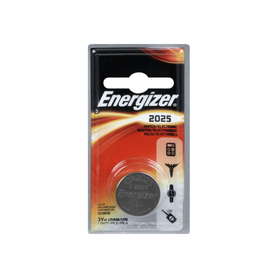 Energizer Watch/Electronic Battery 3 Volt 2025 1 Ea