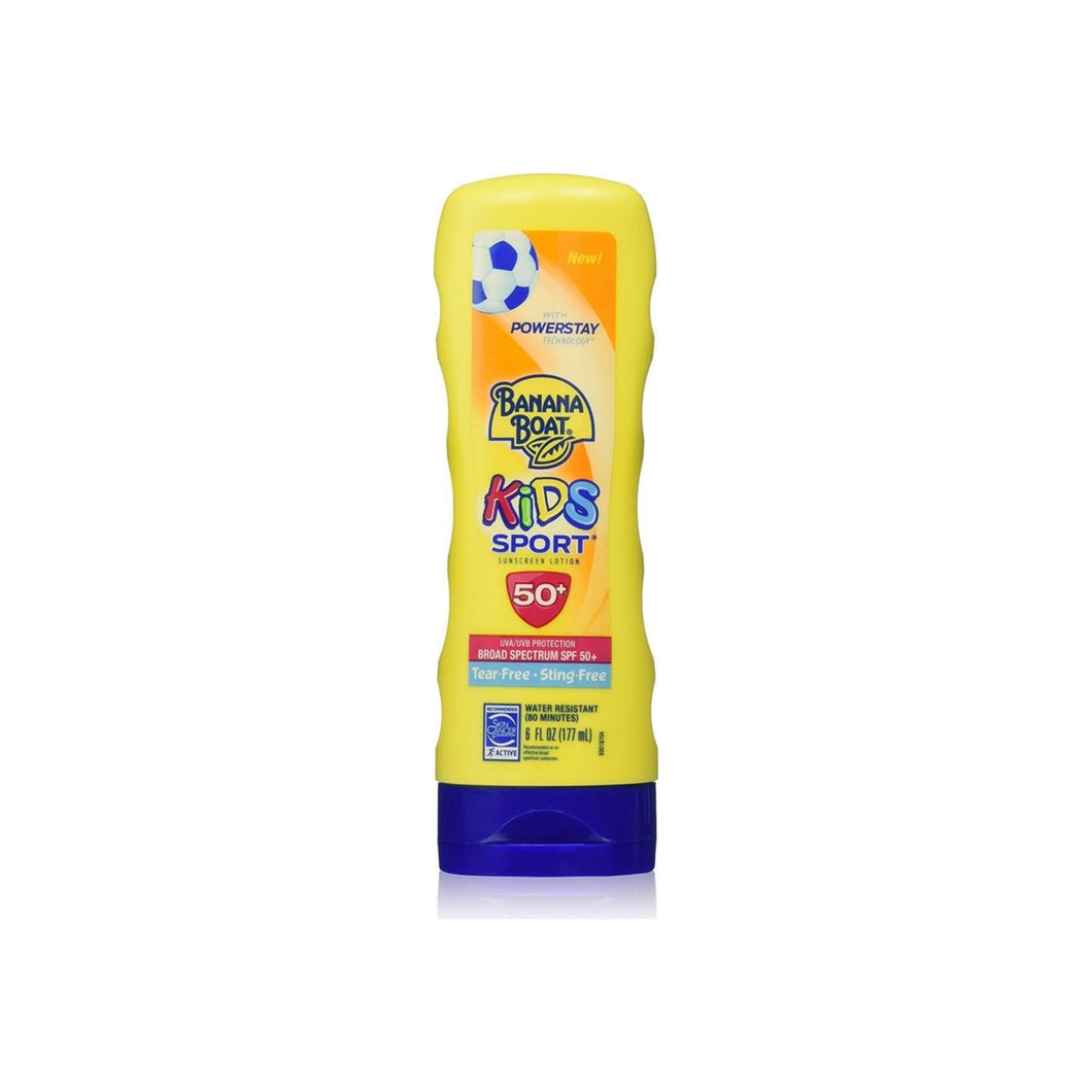 Banana Boat Kids Sport Sunscreen Lotion Broad Spectrum SPF 50+ 6 oz
