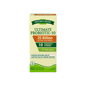 Nature's Truth Ultimate Probiotic 10-Capsules 60 ea