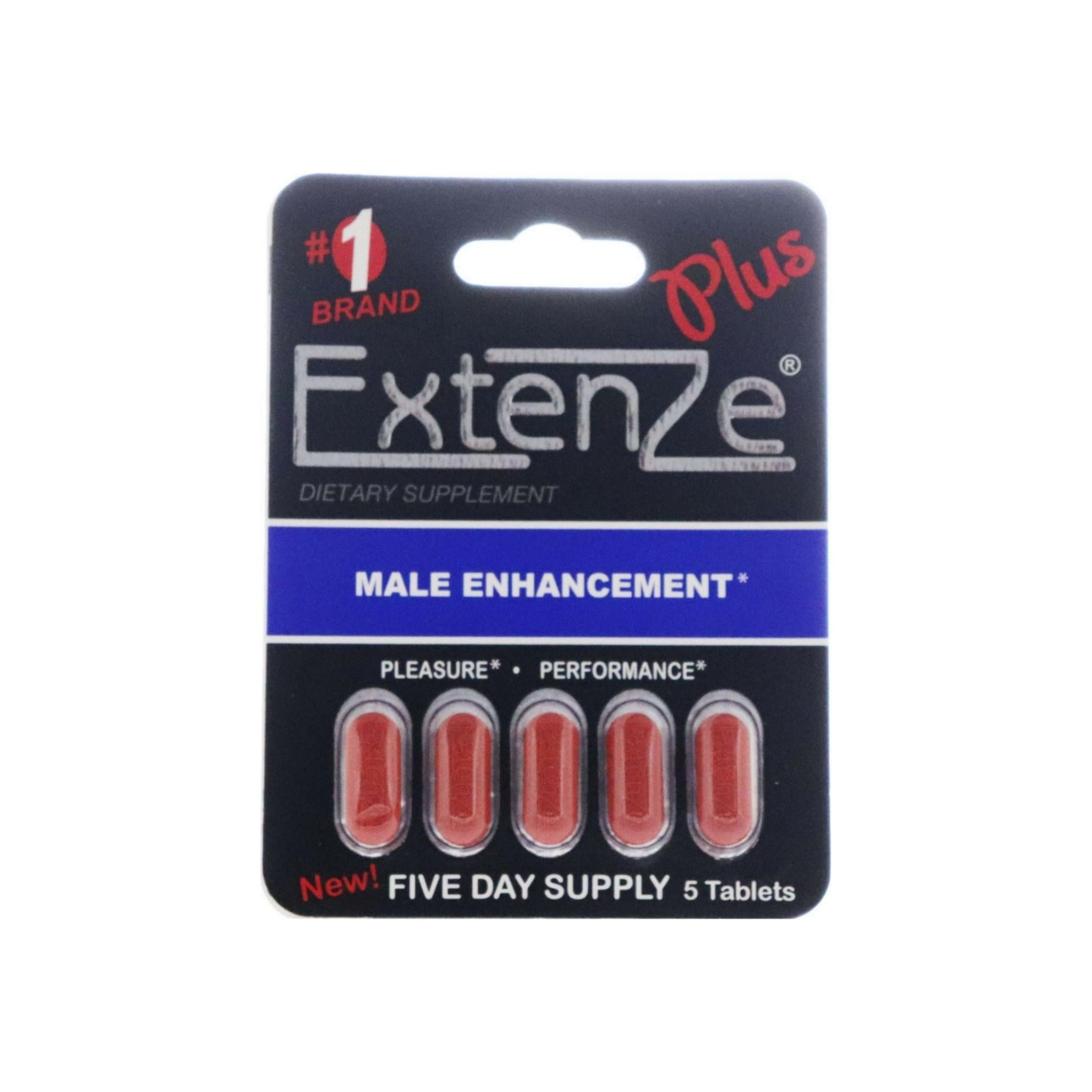 Extenze  Male Enhancement Pills box inside