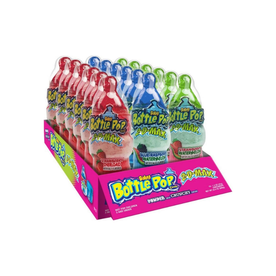 Topps Baby Bottle 2D Max Pop Candy 18ct