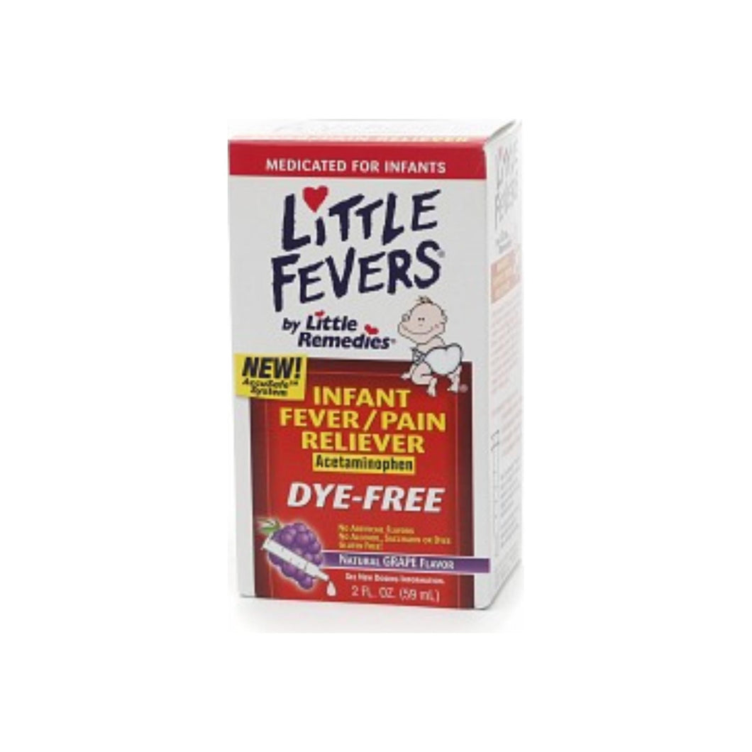 Little Fevers Infant Fever/Pain Reliever Acetaminophen Grape 2 oz