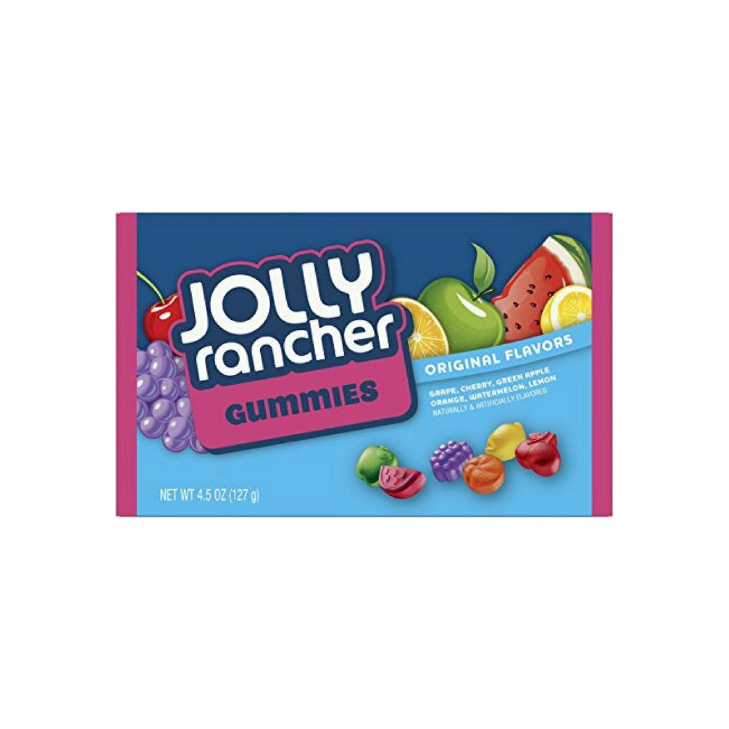 Jolly Rancher Gummies, Original Flavors, 12 packs (4.5 oz per pack)
