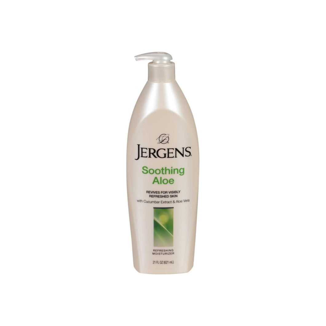 Jergens Soothing Aloe Refreshing Moisturizer 21 oz