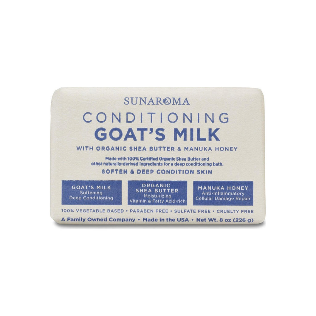 Sunaroma Conditioning Goat's Milk Soap 8 oz