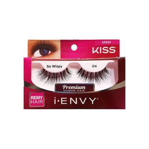 KISS I-Envy Wispies Eyelashes, So Wispy 1 ea