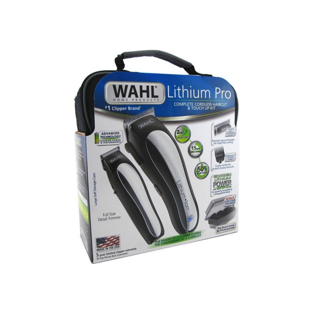 Wahl Lithium Pro Complete Cordless Haircut & Touch Up Kit 1 ea
