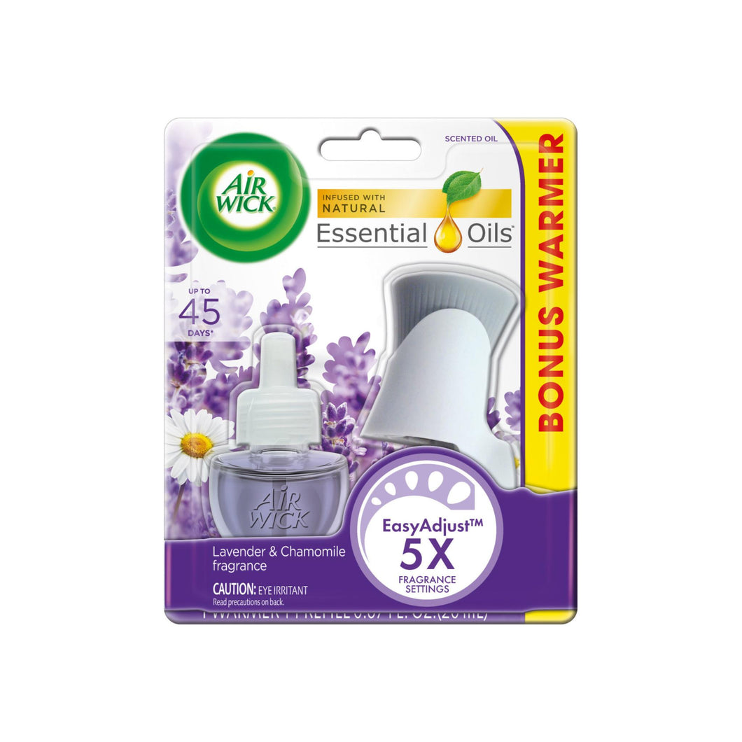 Air Wick Scented Oil - Starter Kit Lavender & Chamomile 1 ea