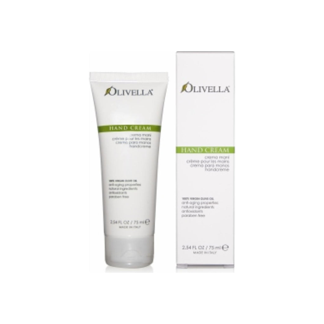 Olivella Hand Cream From Virgin Olive Oil 2.54 oz