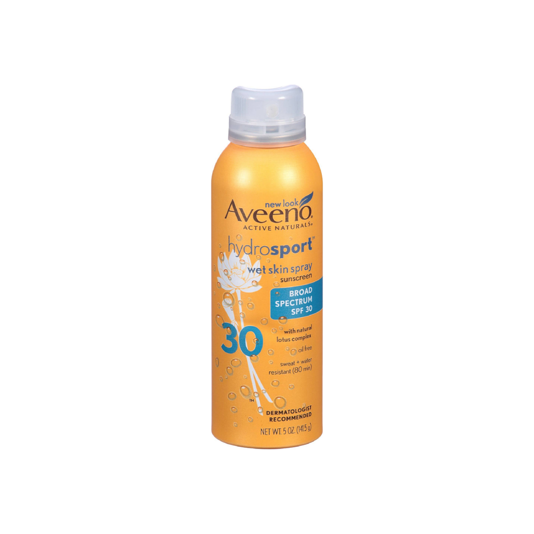 AVEENO Active Naturals Hydrosport Sunscreen Spray SPF 30 5 oz