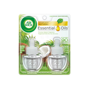 Air Wick  Essential Oils Coconut Splash (2X.67) oz
