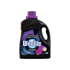 Woolite Dark Care Laundry Detergent, Midnight Breeze Scent, 100 oz/ 50 loads