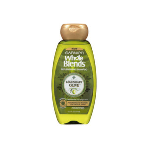 Garnier Whole Blends Legendary Olive Replenishing Shampoo 12.5 oz