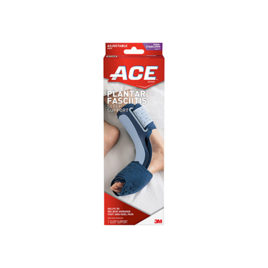 ACE Plantar Fasciitis Sleep Support One Size Adjustable 1 Each - Pharmapacks