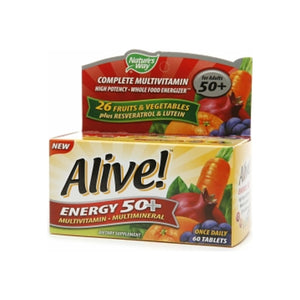 Alive! Energy 50+ Multivitamin 60 ea