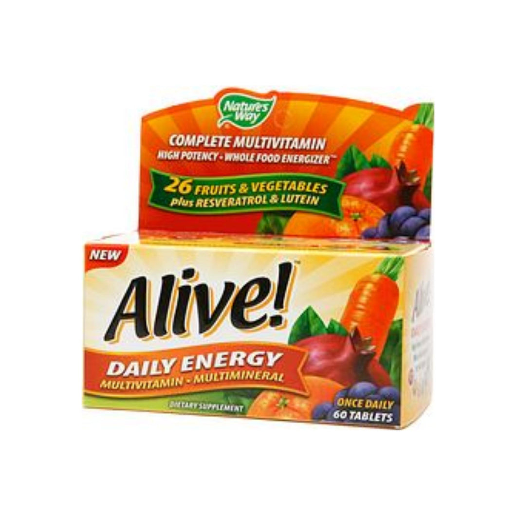 Alive! Daily Energy Multivitamin 60 ea