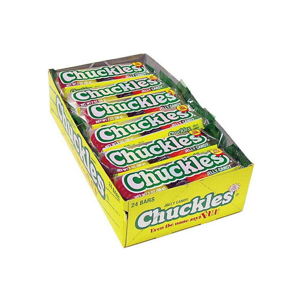 Chuckles  Assorted Bar 24ct