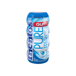 Mentos Pure Fresh Gum Bottle Fresh Mint 10 pack (15 ct per pack)