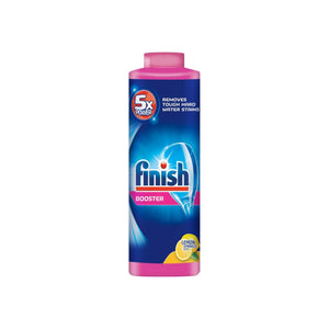 Finish Hard Water Booster Powder, Lemon Sparkle 14 oz