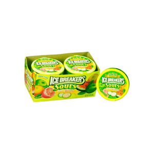 Ice Breakers Sours Sugar Free Candy 8 pack (1.5 oz per pack)