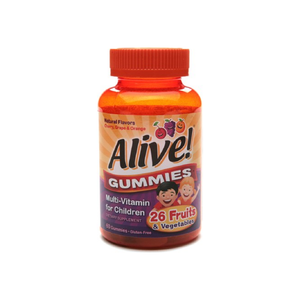 Alive Multi-Vitamin Gummies for Children 60 Each