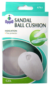 Oppo Sandal Ball Cushion [6761] 1 Pair