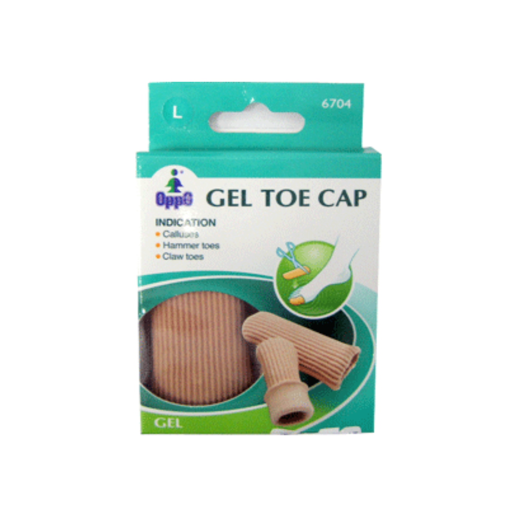Oppo Gel Toe Cap, Large [6704] 2 Pack
