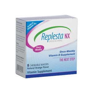 Replesta NX Once Weekly Vitamin D Wafers, Orange 8 ea