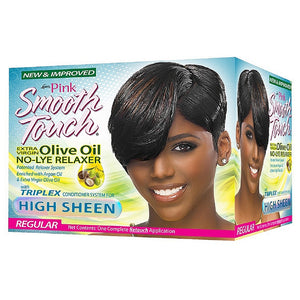 Luster's Pink Smooth Touch Growth Relaxer Kit, Regular 1 ea