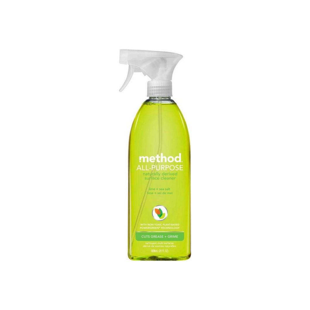 Method All Purpose Surface Cleaner, Lime + Sea Salt 28 oz