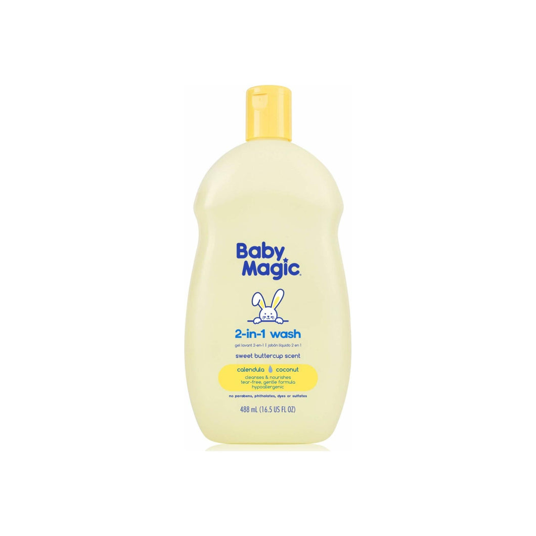Baby Magic Hair & Body Wash, Soft Baby Scent 16.5 oz